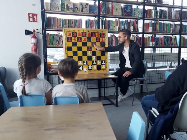Warsztaty szachowe w Mal Chrzanów